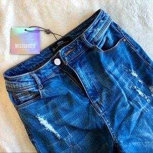 "High Waist Authentic Skinny ""Sinner"" Jeans"